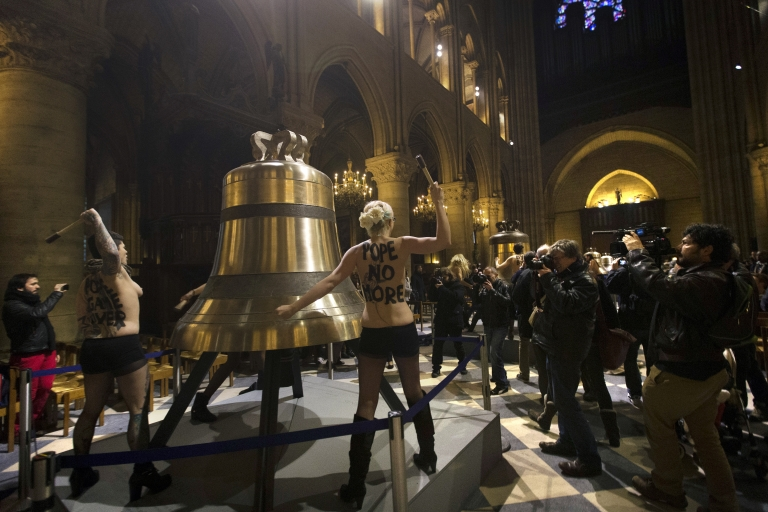 <p>Paris' Notre Dame cathedral will inaugurate nine new bells this Palm Sunday.</p>