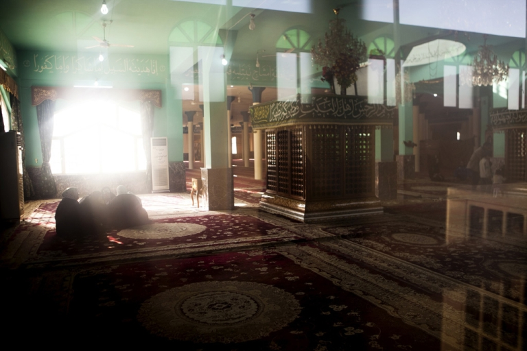 <p>This shrine is called Imam al-Huwa (Imam of the Wind) in Dakouk, south of Kirkuk, a largely Shia Turkmen town in the disputed territories claimed by Kurds, Turkmen and Arabs.</p>