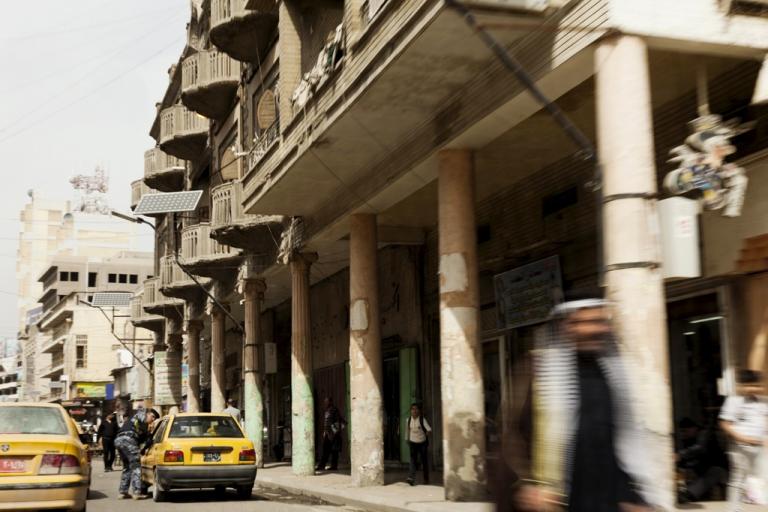 <p>Al Rashid, a street in Baghdad.</p>