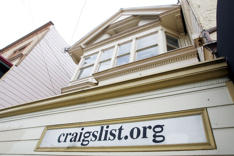 <p>The office of online site Craigslist is seen March 10, 2006 in San Francisco, California. Craigslist.org is being sued in a federal lawsuit for violating fair housing laws by publishing discriminatory classified ads.</p>