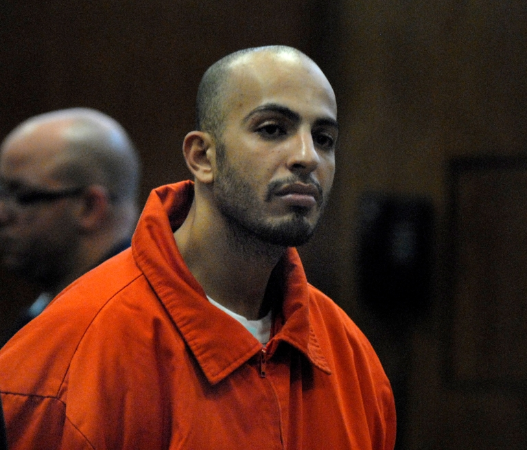 <p>Ahmed Ferhani, 28, pleaded guilty to 10 charges, including conspiracy as a crime of terrorism and criminal possession of a weapon as a crime of terrorism.</p>