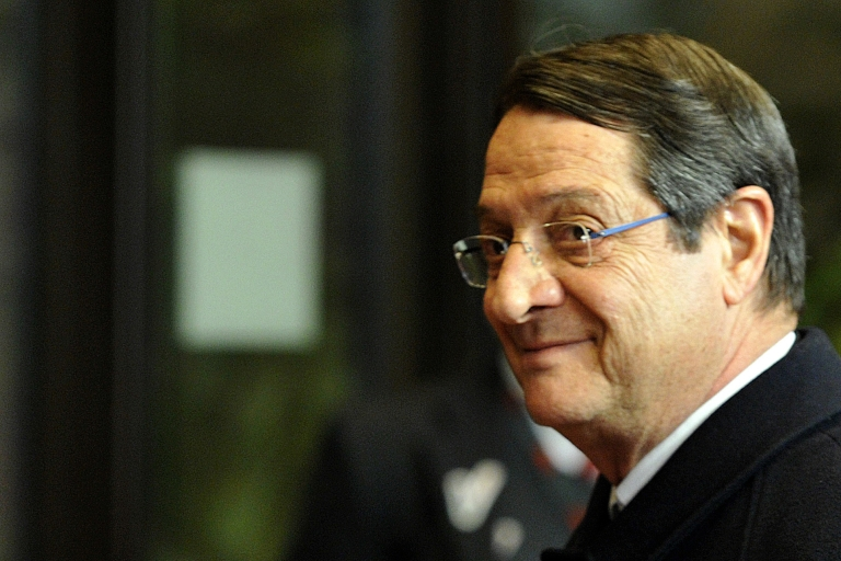 <p>Anastasiades: Cyprus forced to become an