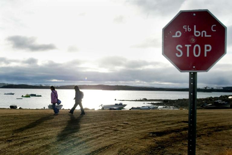 <p>Iqaluit, northern Canada.</p>