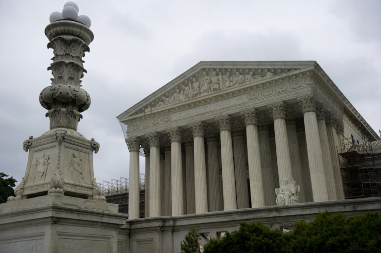 <p>The US Supreme Court is seen in Washington, DC, June 18, 2012. The highest court in the US is set to consider a new affirmative action case from Michigan about the use of race in college admissions.</p>