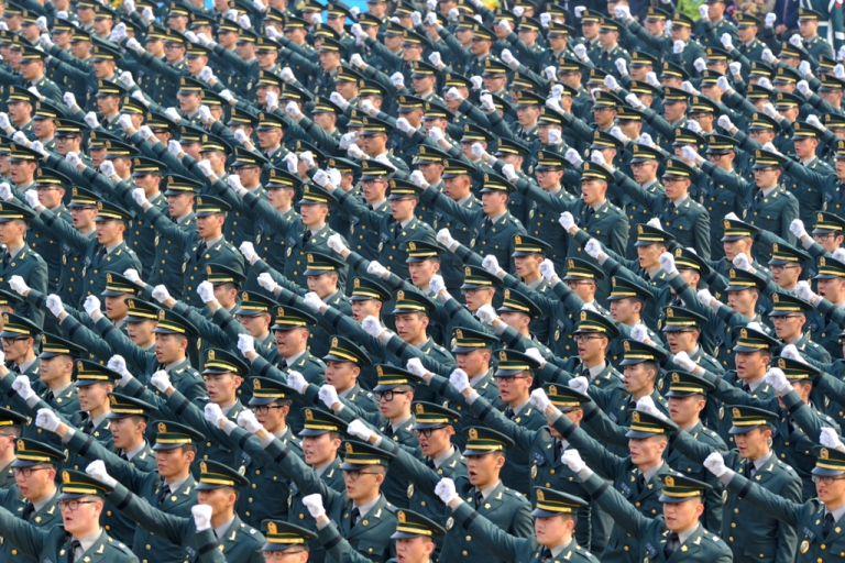 <p>New South Korean officers during a commission ceremony. North Korea has vowed to scrap peace pacts with South Korea, upping the ante after its recent nuclear test.</p>