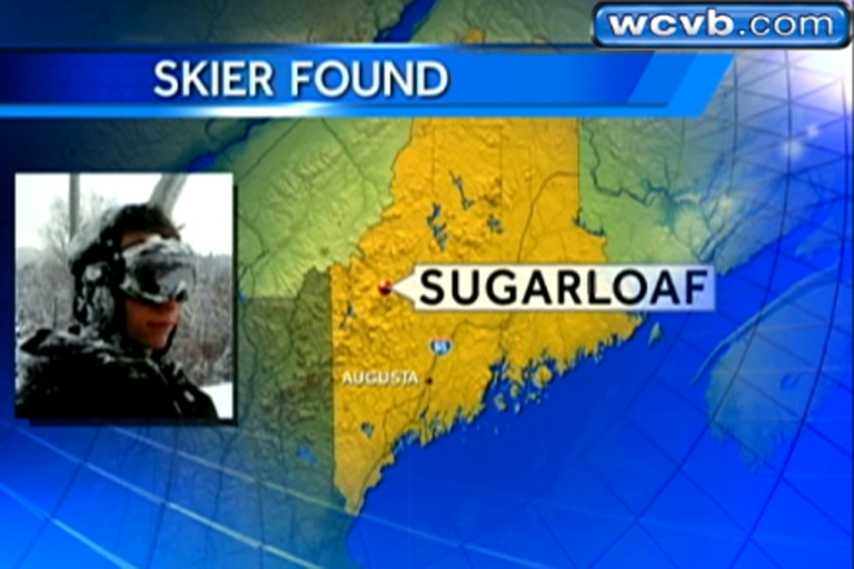 <p>Snowmobile driver Joel Paul found 17-year-old Nicholas Joy who spent two nights lost on Sugarloaf Mountain in Maine on March 5, 2013. Joy said he built a snow cave to fight the cold.</p>