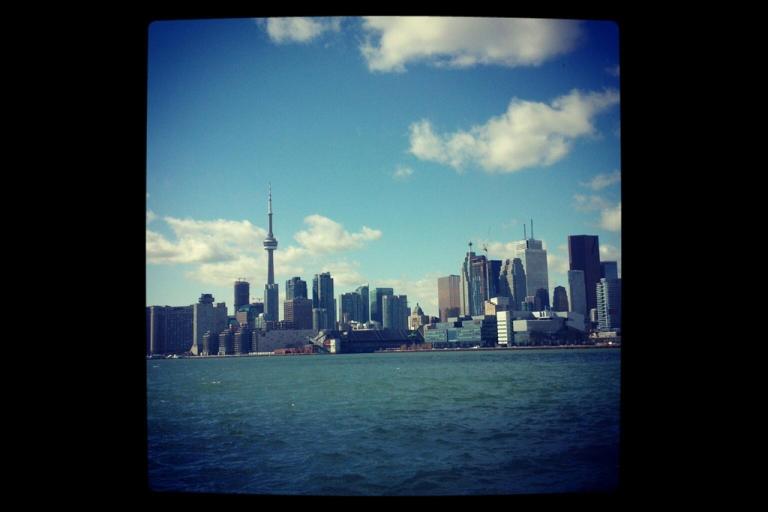 <p>The Toronto skyline.</p>