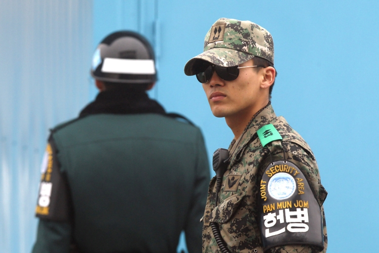 <p>No more fun and games for South Korea's celebrity soldiers.</p>