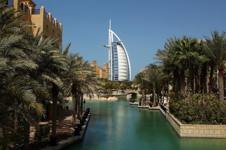 <p>The Burj Al Arab is seen on Feb. 25, 2012 in Dubai, United Arab Emirates.</p>