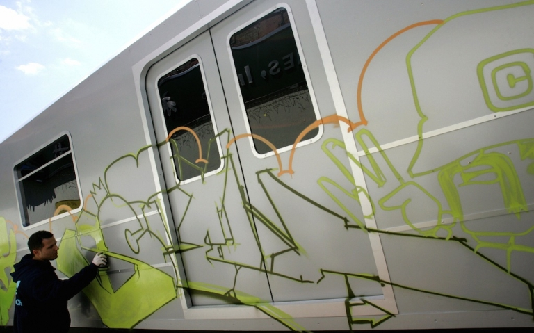 <p>Germany's railways have a new strategy for cracking down on graffiti artists.</p>