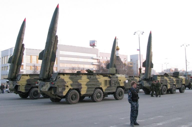 <p>A KN-02 missile, the kind that it is believed North Korea has launched six times in the last few days. The US has tried to downplay the missile tests, citing decreased tensions on the peninsula.</p>