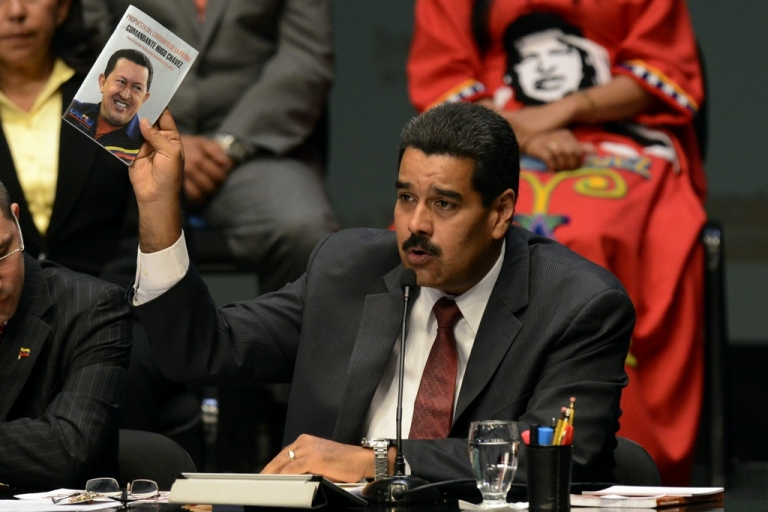 <p>Venezuela's President Nicolas Maduro has pulled out of the UN General Assembly annual meeting over an alleged plot, he claims, to kill him.</p>
