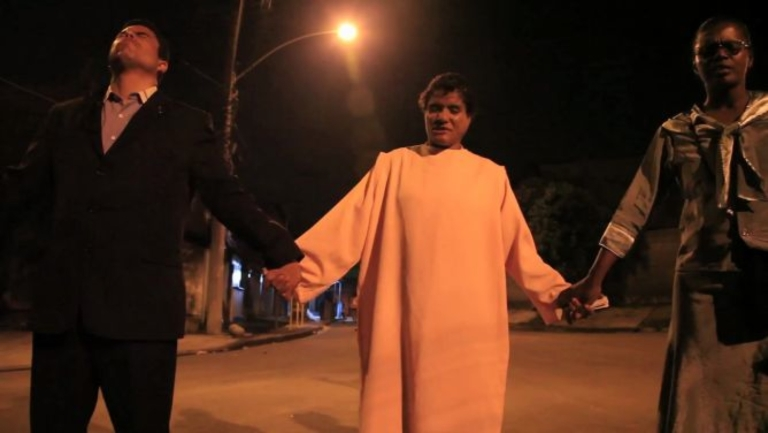 <p>A still from On Location Video in Brazil, Rio crack addicts get evangelical clean-up.</p>