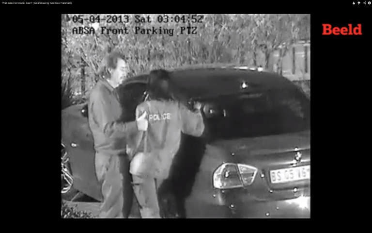 <p>This video from South Africa allegedly shows a bribe taking place, followed by a policewoman unzipping a motorist's pants and performing a sex act on him.</p>