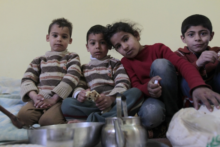 <p>Thousands of Syrian families fled coastal areas Saturday, May 4, 2013, fearful of further massacres.</p>