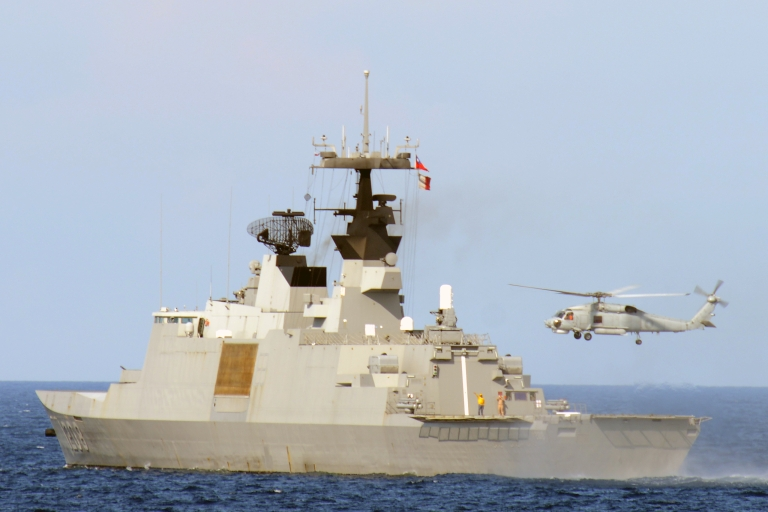 <p>Taiwan staged a military exercise near the Philippines this month in response to the killing of a Taiwanese fisherman.</p>