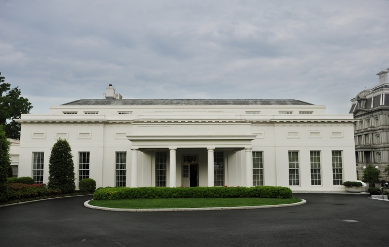<p>The West Wing of the White House in Washington, DC, was evacuated due to reports of smoke.</p>