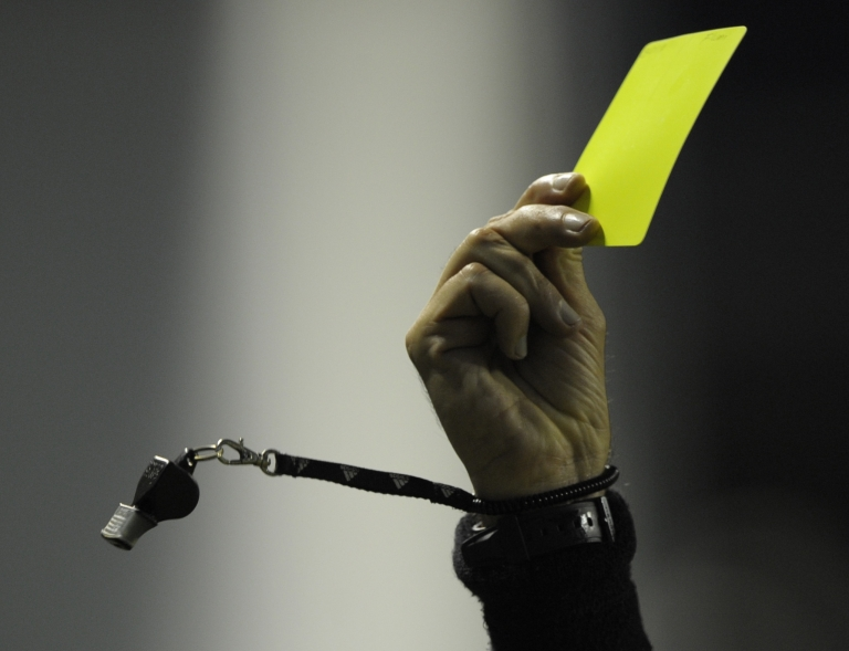 <p>Police have accused a 17-year-old player in a recreational soccer league of punching referee Ricardo Portillo after the man called a foul on him and issued him a yellow card.</p>