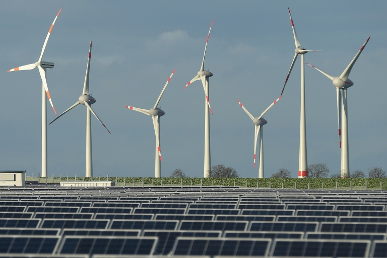<p>The share of renewables in power generation has jumped from 6 percent to 25 percent over the past decade.</p>