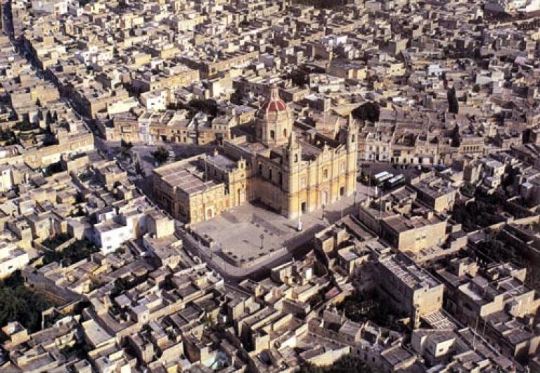 <p>Zejtun City Center in Malta.</p>