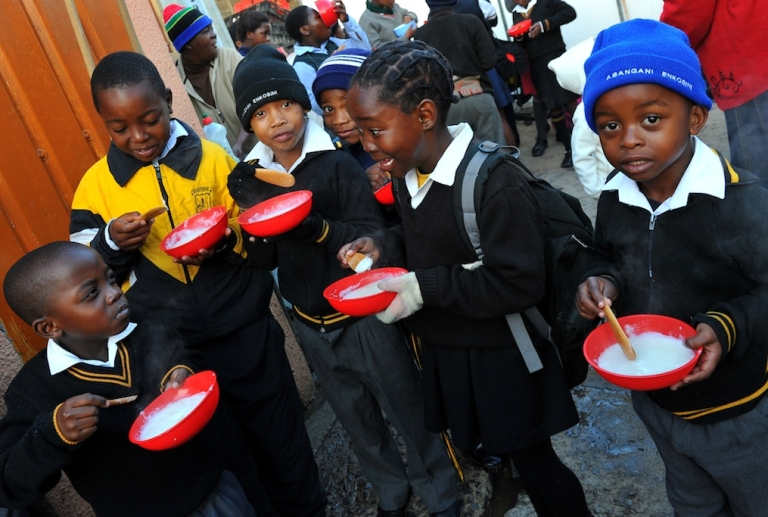 <p>Will these kids in Johannesburg, South Africa be part of an AIDS-free generation?</p>