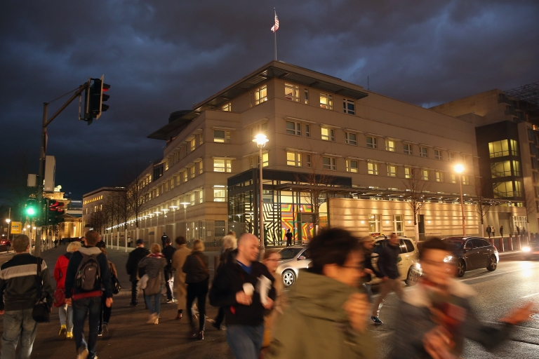 <p>The US embassy in Berlin. Will it become more important to Washington?</p>