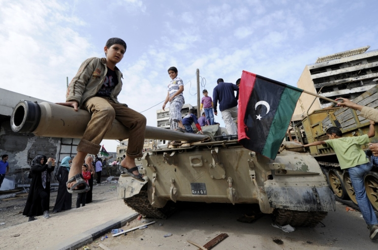 <p>What has changed for LIbyans since they first celebrated the overthrow of Muammar Gaddafi on Oct. 23, 2011?</p>