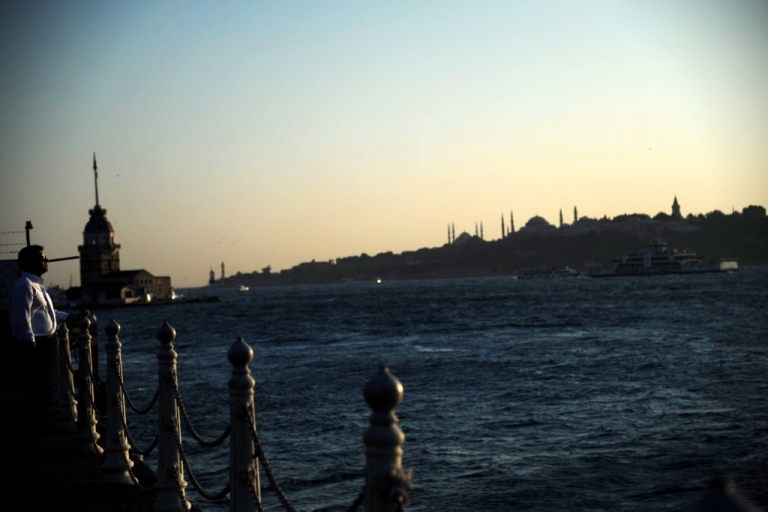 <p>People in Istanbul will one day take the train underneath the Bosphorus, rather than crossing it by ferry.</p>