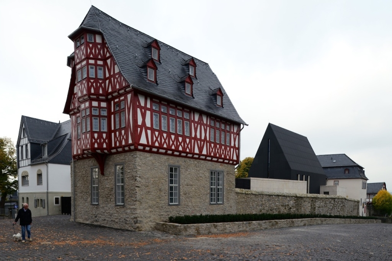 <p>The bling bishop's residence pictured on October 13, 2013 in Limburg, Germany.</p>