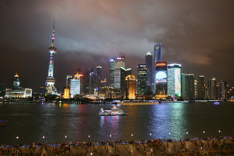 <p>The Shanghai skyline, July 2011. Asia is becoming the world's most energy-thirsty region, and China has enormous shale reserves — but whether it can exploit them is an open question.</p>