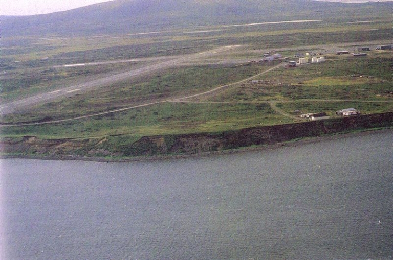 <p>The small settlement of Cold Bay in Alaska.</p>