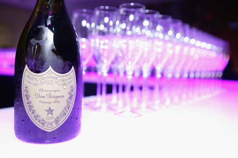 <p>Dom Perignon bottles.</p>