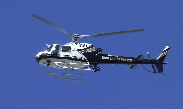 <p>The Eurocopter AS350 Ecureuil (Squirrel).</p>