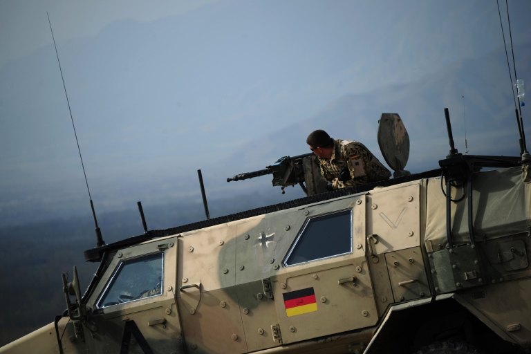 <p>German forces in Afghanistan. The government says the skills required for today's regional conflicts are different from those once needed to protect the country from Soviet invasion.</p>