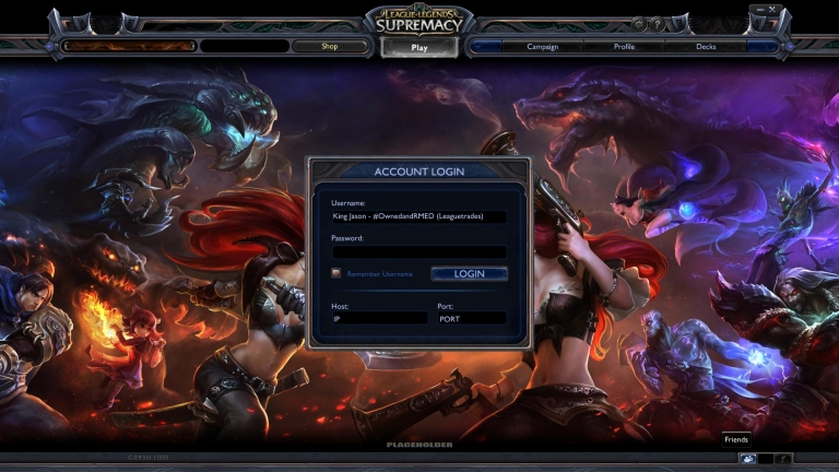 <p>One of the images a hacker released on the Twitter account of Riot Games President and Cofounder Marc Merrill.</p>