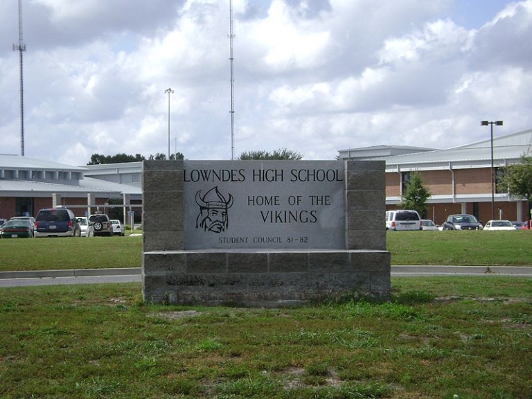 <p>Lowndes High School in Valdosta, Georgia.</p>