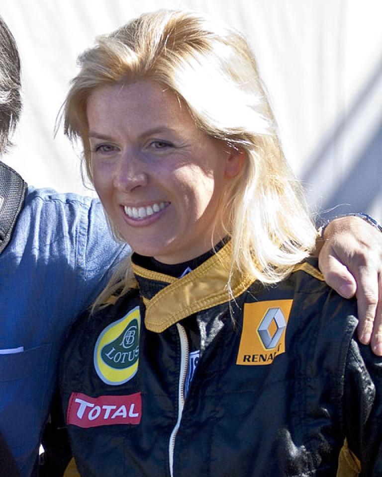 <p>Formula One driver Maria de Villota was found dead on October 11, 2013.</p>