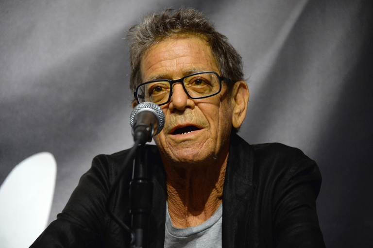 <p>Lou Reed on October 3, 2013 in New York City. The American music legend who founded The Velvet Underground passed away on October 27, 2013.</p>