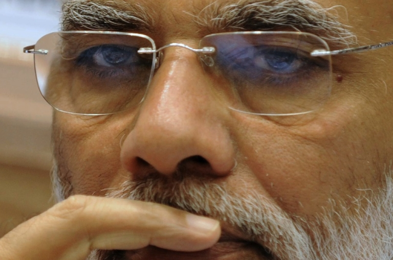 <p>Controversial Hindu nationalist candidate Narendra Modi stands a good chance of becoming India's next prime minister, after the May 2014 elections. He hasn't spoken to his wife in 45 years.</p>