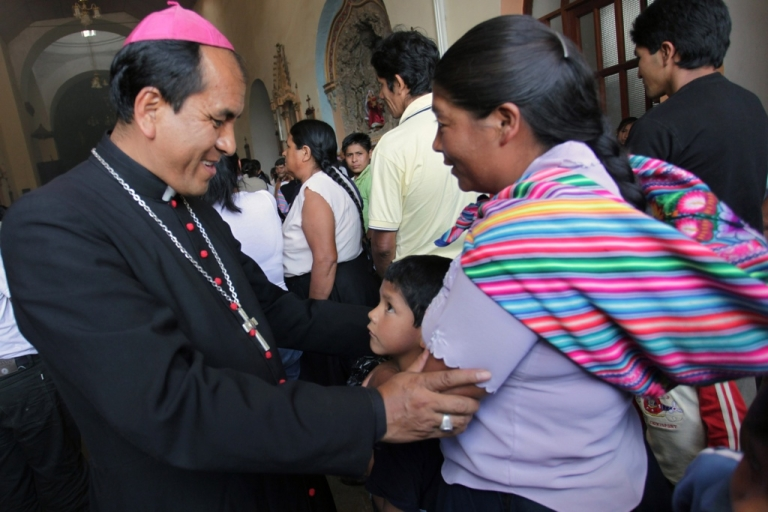 <p>Gabino Miranda, then auxiliary bishop in southeastern Peru. Miranda has been defrocked and on the run after allegations he sexually abused children.</p>