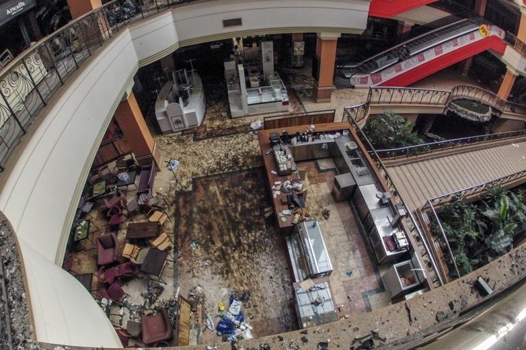 <p>Westgate mall in Nairobi, Kenya, Sept. 30, 2013.</p>