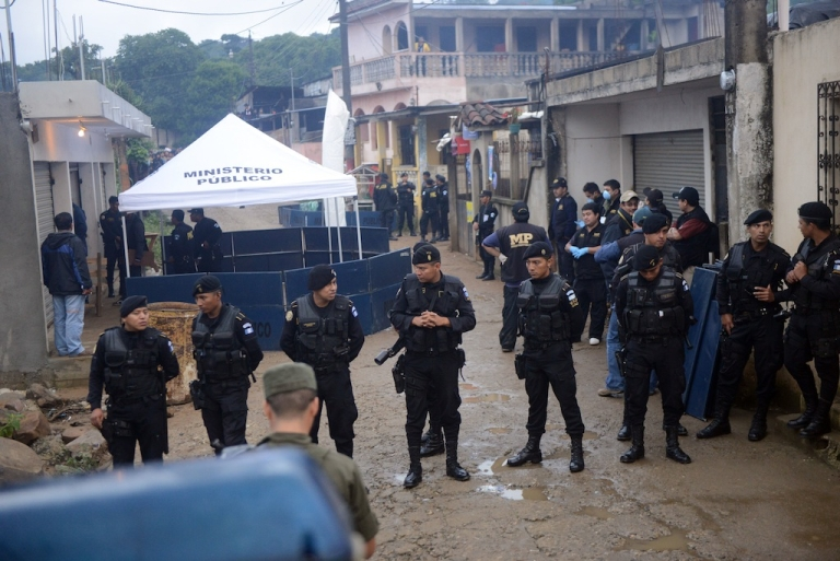 <p>At least 11 people are dead in Guatemala after a drive-by shooting in a rural town.</p>