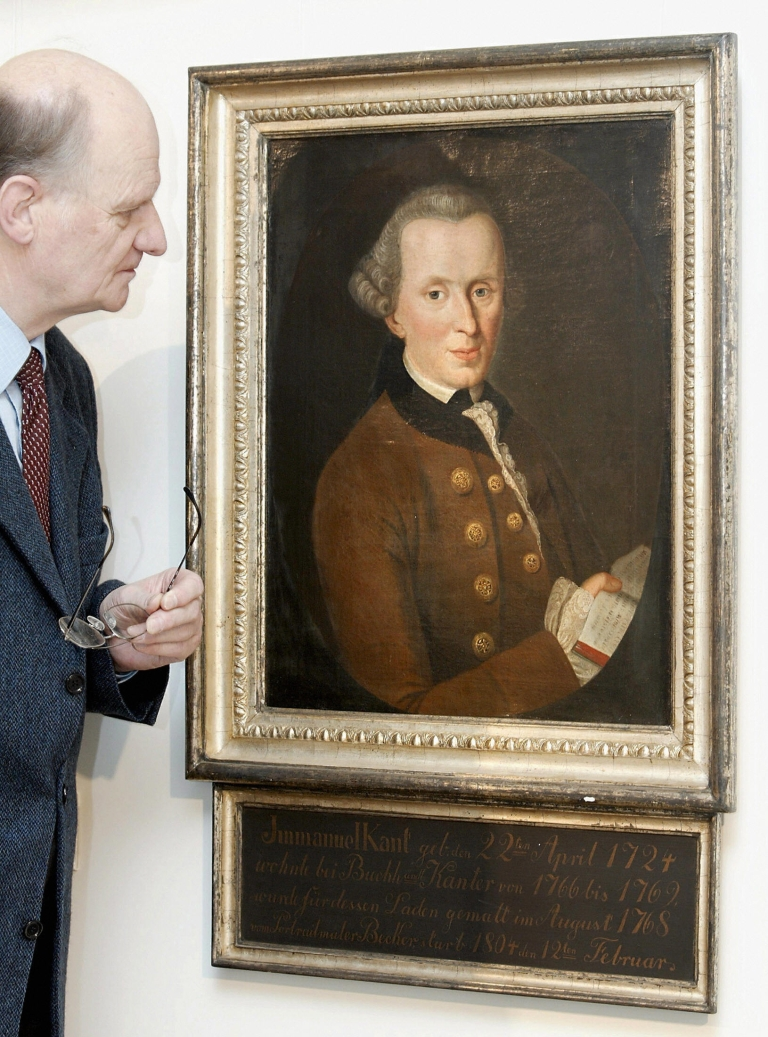 <p>Immanuel Kant: starting fights from beyond the grave.</p>