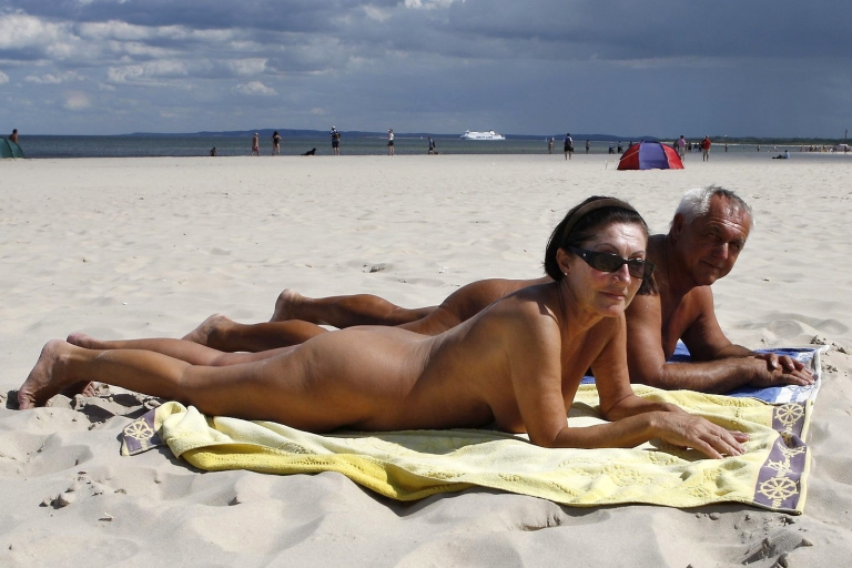 <p>Basking on the Baltic.</p>