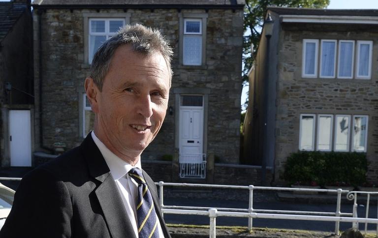 <p>British MP Nigel Evans.</p>