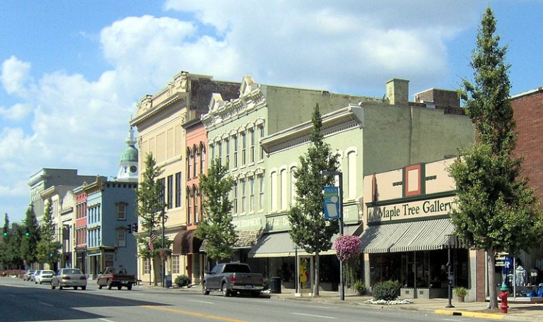 <p>The small town of Danville, Kentucky.</p>