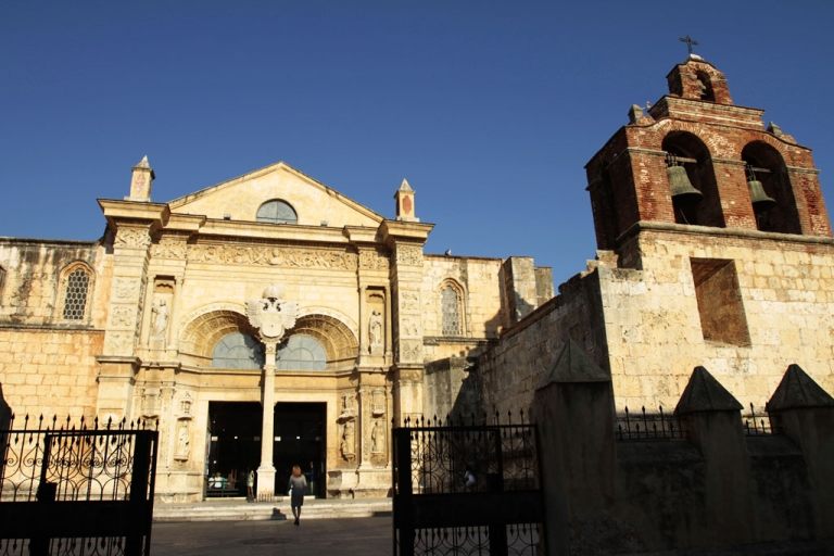 <p>The cathedral in Santo Domingo, as seen February 16, 2010.</p>