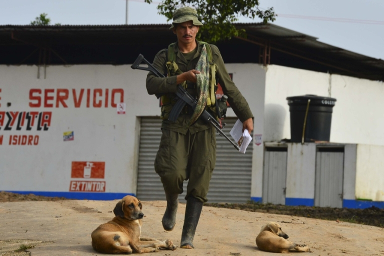 <p>Will Colombia's FARC rebels swap their guns for ballots?</p>