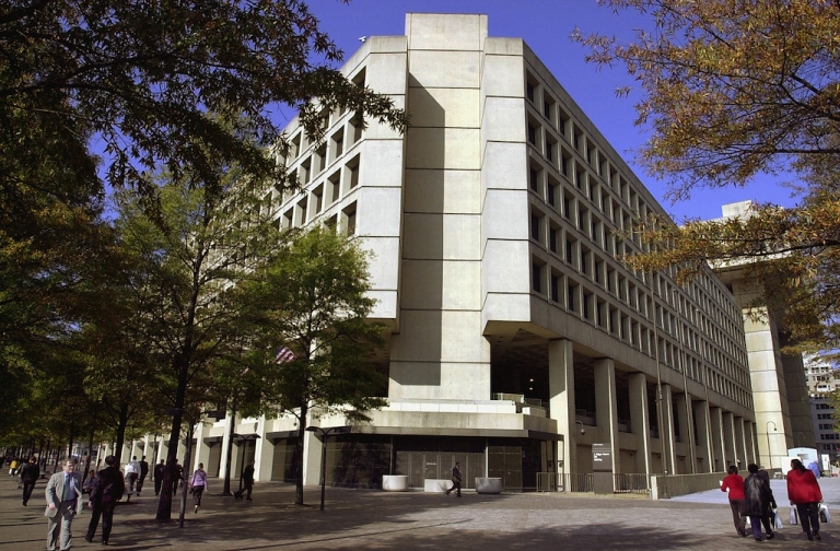 <p>The J. Edgar Hoover Building in Washington, DC.</p>