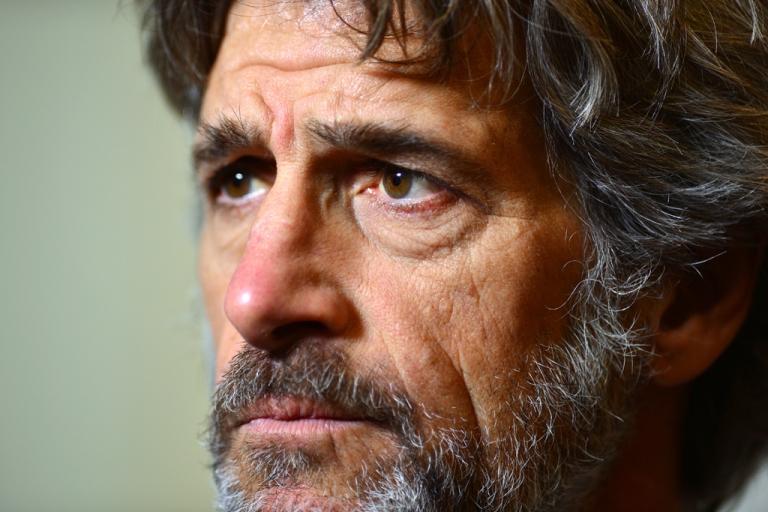 <p>Guido Barilla, head of the Italian pasta company Barilla, poses during a press conference on Dec. 11, 2012 in Rome.</p>